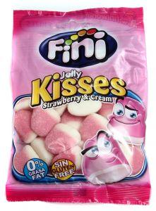 Fini Kisses Strawberry & Cream Gummy Jellies 100G |?sultan-center.com????? ????? ???????