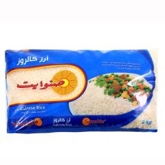 Sunwhite Calrose Rice 2Kg |?sultan-center.com????? ????? ???????