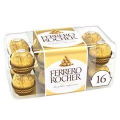 Ferrero Rocher Chocolate Box 16Pcs 200G  sultan-center.comمركز سلطان اونلاين