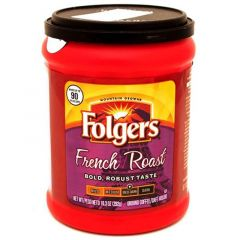 Folgers French Roast Med-Dark Ground Coffee 10.3Oz |?sultan-center.com????? ????? ???????