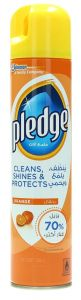 Pledge Orange Furniture Polish Spray 300Ml |?sultan-center.com????? ????? ???????
