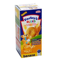 Heinz Farley's Banana Rusks Biscuits 150G X 9Pcs |?sultan-center.com????? ????? ???????