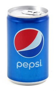 Pepsi Cola Soft Drink Can