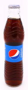 Pepsi Cola Soft Drink Glass Bottle