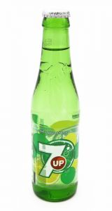 7 UP Regular Soda Bottle