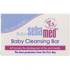 Seba Med Baby Cleansing Bar For Delicate Skin 100G |?sultan-center.com????? ????? ???????
