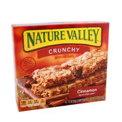 Nature Valley Crunchy Cinnamon Granola Bar Pack 12 Bars |?sultan-center.com????? ????? ???????