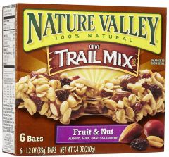 Nature Valley Fruit & Nut Chewy Trail Mix Bar  210g |?sultan-center.com????? ????? ???????