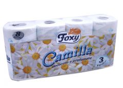 Foxy Camilla Printed & Perfumed 3PLY Toilet Paper Rolls  8Pcs |?sultan-center.com????? ????? ???????