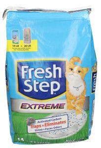 Fresh Step Extreme Clay Cat Litter Bag 6.35Kg 6.35kg |sultan-center.comمركز سلطان اونلاين