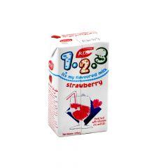 KDD Low Fat Strawberry Milk