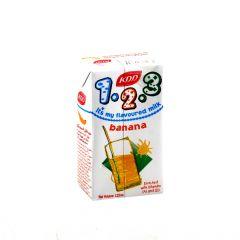 KDD 123 Banana Flavoured Milk 125Ml |sultan-center.comمركز سلطان اونلاين