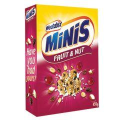 Weetabix Minis Fruit & Nuts Cereal 450G |sultan-center.comمركز سلطان اونلاين