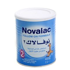 Novalac Follow-On Formula Stage 2 (From 6 Months Onwards) 400G |?sultan-center.com????? ????? ???????