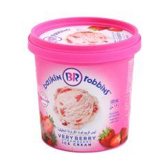 Baskin Robbins Very Berry Strawberry Ice Cream  120Ml |sultan-center.comمركز سلطان اونلاين