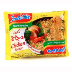 Indomie Chicken Flavoured Instant Noodles 70G X 5Pcs |?sultan-center.com????? ????? ???????