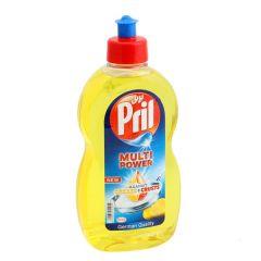 Pril Multi Power Against Grease + Crusts Lemon Dishwashing Liquid  500Ml |?sultan-center.com????? ????? ???????
