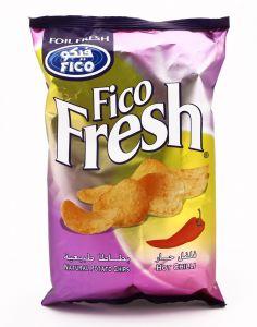 Fico Fresh Chilli Potato Chips 80G |?sultan-center.com????? ????? ???????