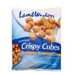 Lamb Weston Seasoned Crispy Cube Potatoes  2.5Kg |?sultan-center.com????? ????? ???????
