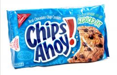 Chips Ahoy Reduced Fat Chocolate Chip Cookies 389G |?sultan-center.com????? ????? ???????