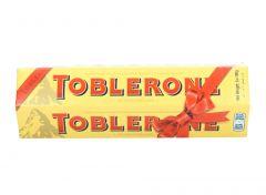 Toblerone Swiss Milk Chocolate With Honey & Almond  100G X 6 |sultan-center.comمركز سلطان اونلاين
