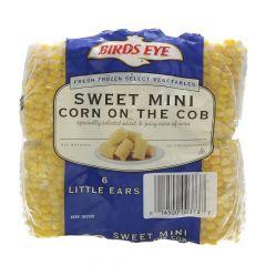 Birds Eye Sweet Mini Corn In The Cob  6Pcs |?sultan-center.com????? ????? ???????
