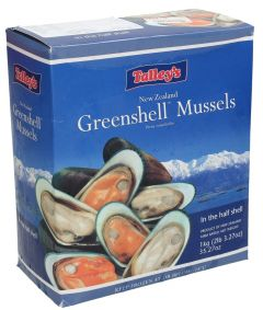 Talley'S Green Shell Mussels 1kg |?sultan-center.com????? ????? ???????