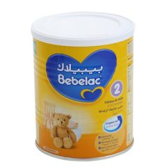Bebelac 2 Follow-on Milk (From 6 to 12 Months) 400G |?sultan-center.com????? ????? ???????