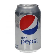 Pepsi Cola Diet Soft Drink Can  330ml |?sultan-center.com????? ????? ???????