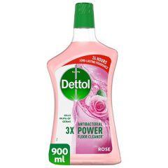 Dettol 4-In-1 Rose Multi-Action Disinfectant Cleaner  900Ml |sultan-center.comمركز سلطان اونلاين