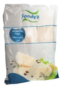 Foody'S Frozen White Fish Fillet  1KG |?sultan-center.com????? ????? ???????