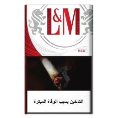 L&M Red Filter Cigarettes 20Pcs |?sultan-center.com????? ????? ???????