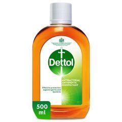 Dettol Antibacterial Antiseptic Disinfectant 500Ml |sultan-center.comمركز سلطان اونلاين