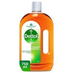 Dettol Antibacterial Antiseptic Disinfectant 750Ml |sultan-center.comمركز سلطان اونلاين