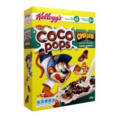 Kellogg'S Coco Pops Chocolate Wheat Cereal 375G |?sultan-center.com????? ????? ???????