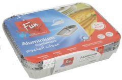 Fun Aluminum Container With Lid