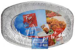 Fun Oval Aluminum 43X28.6Cm Platters 5pcs |sultan-center.comمركز سلطان اونلاين