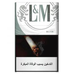 L&M Silver Filter Cigarettes  20Pcs |?sultan-center.com????? ????? ???????