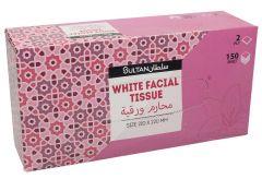 Sultan 2PLY Tissue Box  150Pcs |?sultan-center.com????? ????? ???????