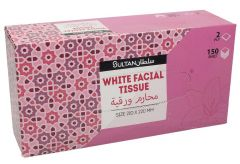 Sultan 2PLY Tissue Box  150Pcs |sultan-center.comمركز سلطان اونلاين
