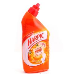 Harpic Fresh Peach & Jasmine Scented Liquid Toilet Cleaner  500Ml |?sultan-center.com????? ????? ???????