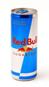 Red Bull Sugar Free Energy Drink Can