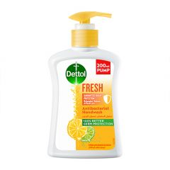 Dettol Fresh Anti-Bacterial Hand Wash  200ml |?sultan-center.com????? ????? ???????