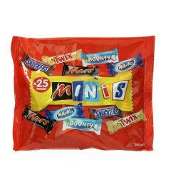 Minis Mixed Chocolate 25 Pcs 500G  sultan-center.comمركز سلطان اونلاين