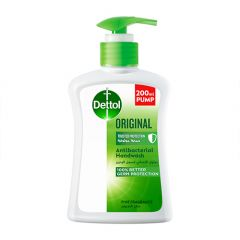 Dettol Original Anti-Bacterial Hand Wash  200ml |?sultan-center.com????? ????? ???????