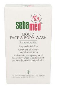 Seba Med Liquid Face & Body Wash For Sensitive Skin