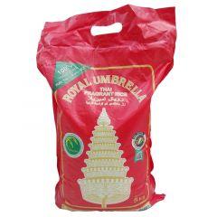 Royal Umbrella Thai Fragrant Rice 5Kg |sultan-center.comمركز سلطان اونلاين