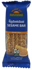 Natureland Organic Orange Sesame Bar