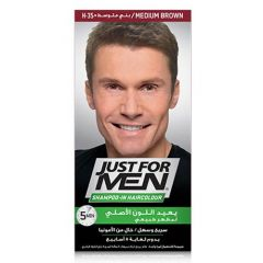 Just For Men Shampoo-In Hair Color Meduim Brown H-35