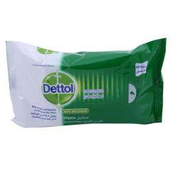 Dettol Anti-Bacterial Wipes 80Pcs |?sultan-center.com????? ????? ???????
